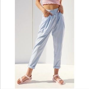 Ecote Urban Outfitters Devi pleated tapered pant